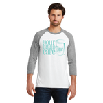 Men's Perfect Tri 3/4-Sleeve Raglan