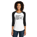Juniors Very Important Tee 3/4-Sleeve Raglan