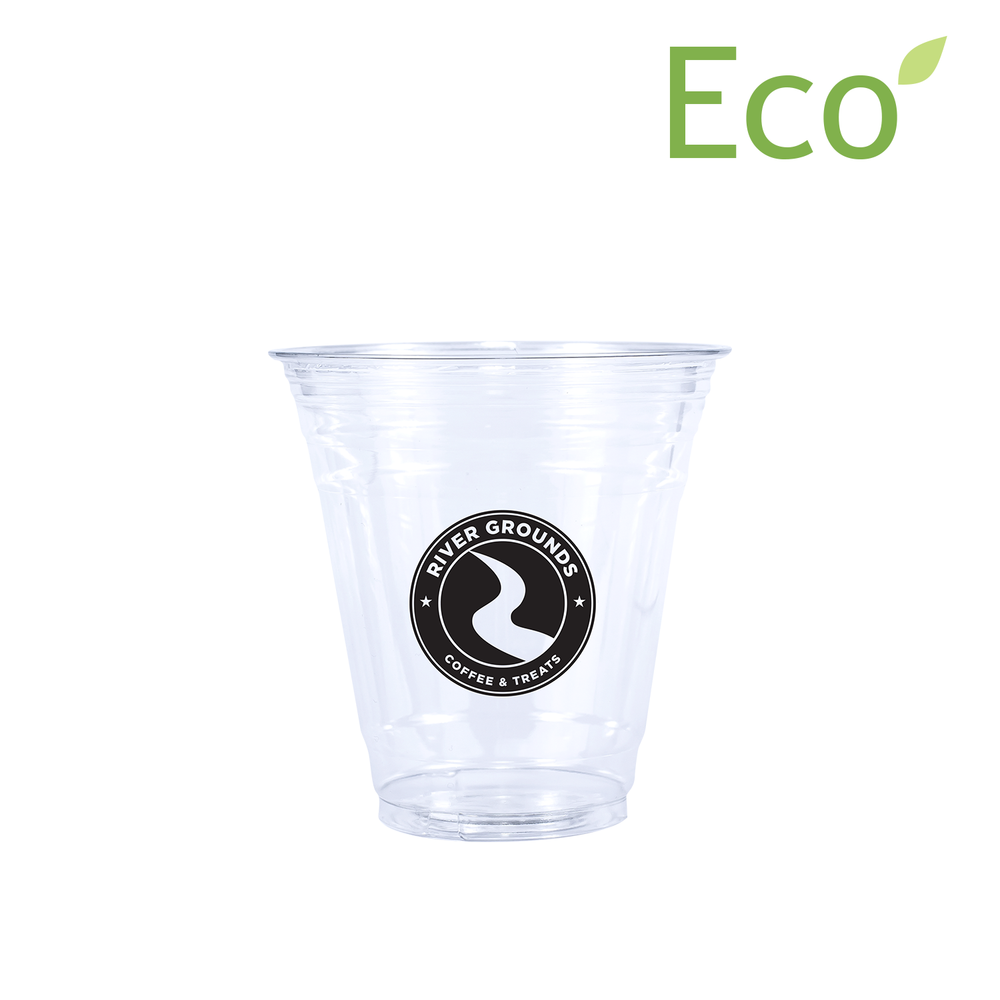12oz Custom Printed Eco-Friendly Cold PLA Cups