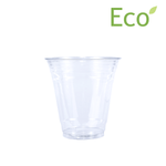 Blank 12oz Eco-Friendly Cold PLA Cup
