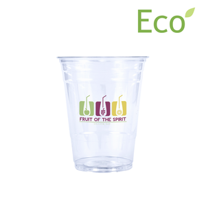 16oz Custom Printed Eco-Friendly Cold PLA Cups