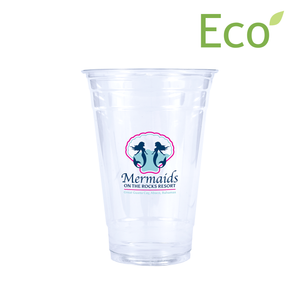 20oz Custom Printed Eco-Friendly Cold PLA Cups