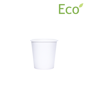 Blank 4oz Eco-Friendly White Paper Hot Cups