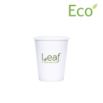 8oz Custom Printed Eco-Friendly White Paper Hot Cups