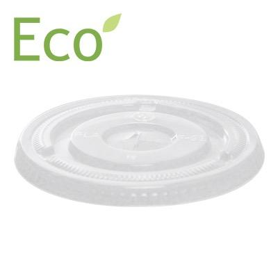 Flat Lids for 12oz to 20oz Eco-Friendly Cold PLA Cups