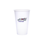 16oz Custom Printed White Paper Cold Cup