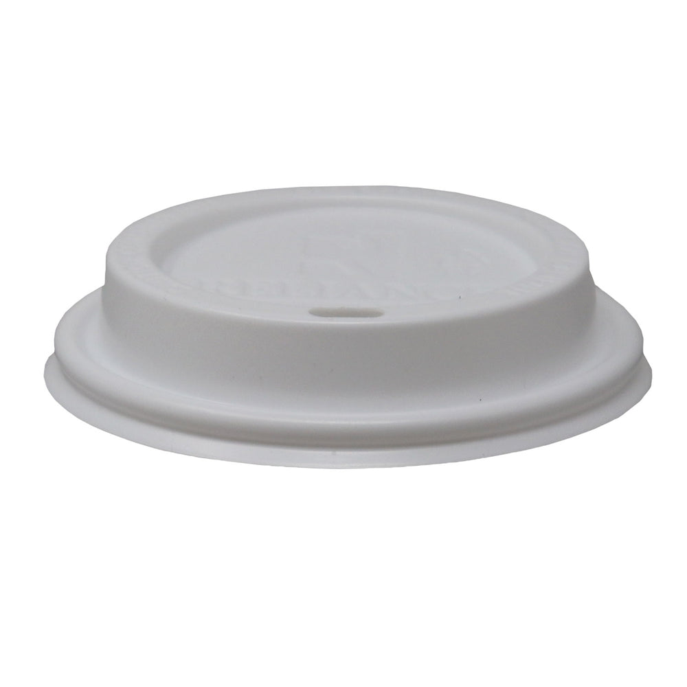 Reliance White Sipper Dome Lids for 10~24oz Paper Hot Cups