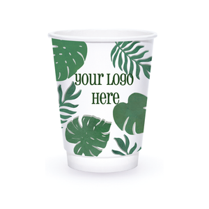 Summer 12oz Custom Printed Insulated Paper Hot Cups