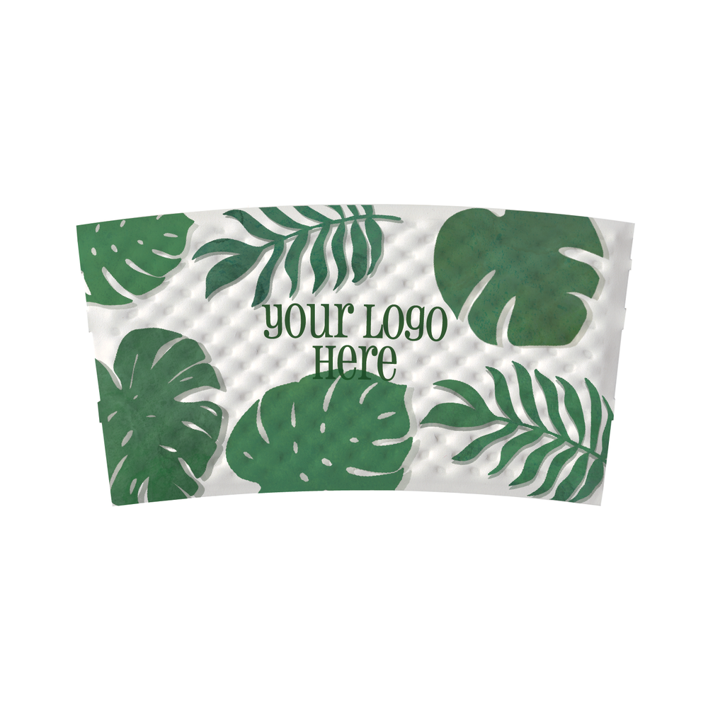 Summer Full Wrap Custom Printed Coffee Sleeves