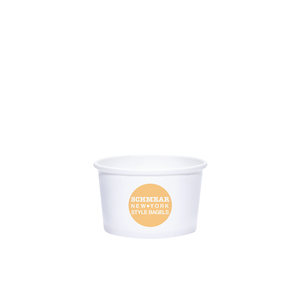 4oz Custom Printed White Paper Dessert Cups