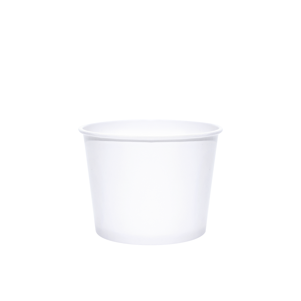 12oz White Paper Dessert/Soup Cups