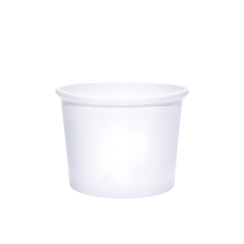16oz White Paper Dessert Cups