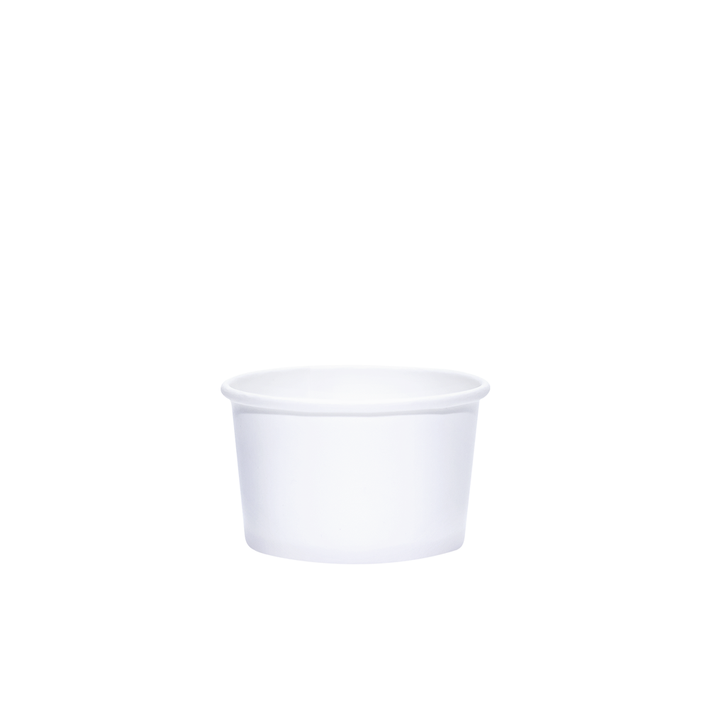 4oz White Paper Dessert Cups
