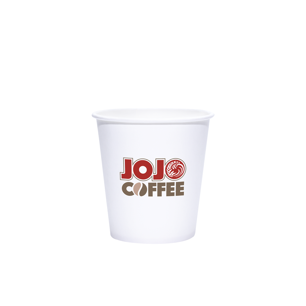 Reliance 10oz Custom Printed White Paper Hot Cups
