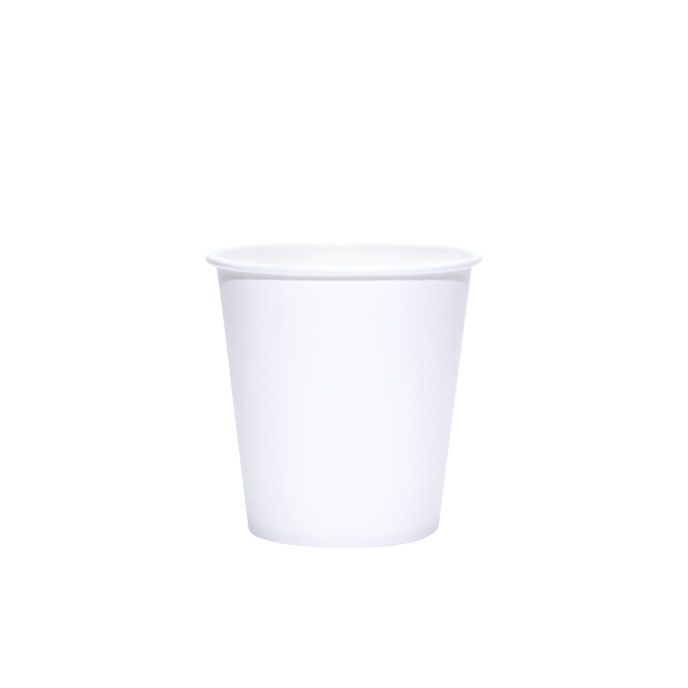 Reliance Blank 10oz White Paper Hot Cups