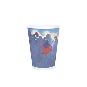 12oz Custom Printed White Paper Hot Cups