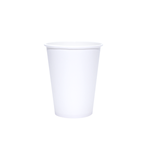 Blank 12oz White Paper Hot Cups