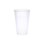 Reliance Blank 16oz White Paper Hot Cups