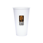 Reliance 20oz Custom Printed White Paper Hot Cups