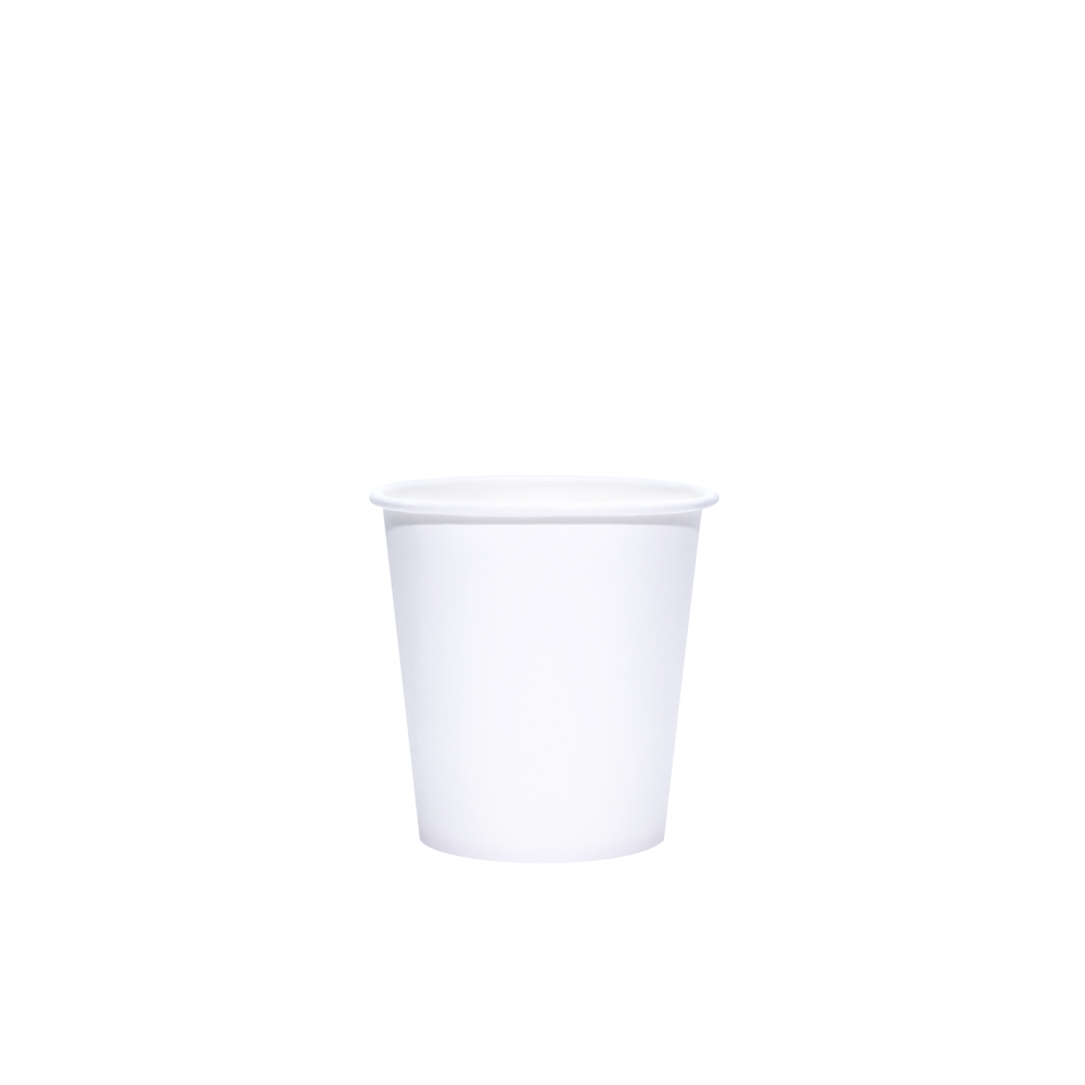 Reliance Blank 4oz White Paper Hot Cups