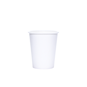 Blank 8oz White Paper Hot Cups