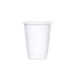 12oz White Insulated Paper Hot Cups