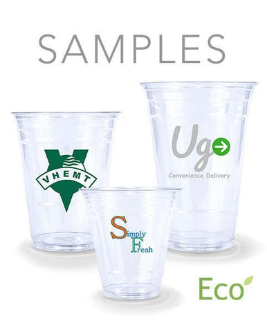 Samples - Eco-Friendly Clear Plastic PLA Cups