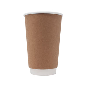 16oz Kraft Insulated Paper Hot Cups