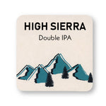 "4"" Full Color Square Custom Coaster - Front Only 100 Pack"