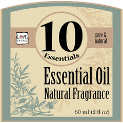 10 Essentials Natural Essential Oil Fragrance