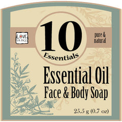 10 Essentials Face and Body Soap - Body Bar Soap