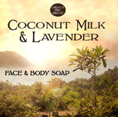 Coconut Milk and Lavender Face and Body Soap