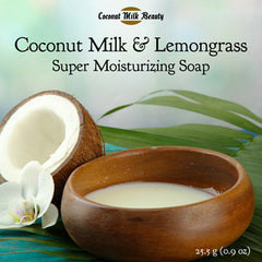 Coconut Milk and Lemongrass Face and Body Soap
