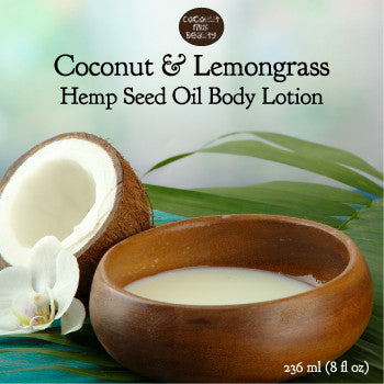 Coconut and Lemongrass Face and Body Lotion