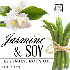 Jasmine and Organic Soy Essential Body Oil
