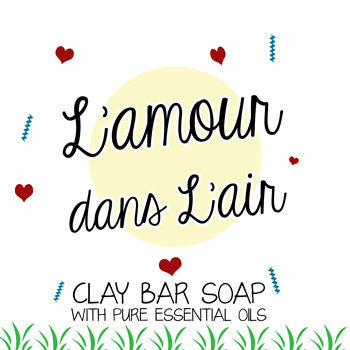 L'Amour dans L'air - Face and Body Clay Bar Soap