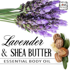 Lavender and Shea Butter Essential Body Oil