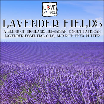 Lavender Fields Natural Essential Oil Perfume