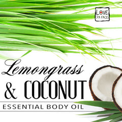 Lemongrass and Coconut Essential Body Oil