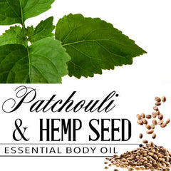 Patchouli and Hemp Seed Essential Body Oil