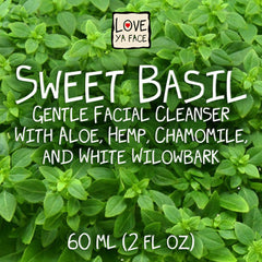 Sweet Basil Gentle Facial Cleanser