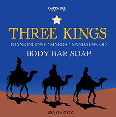 Three Kings Essential Face and Body Soap