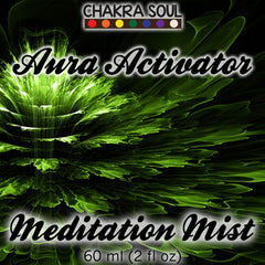 Aura Activator Natural Fragrance and Meditation Mist