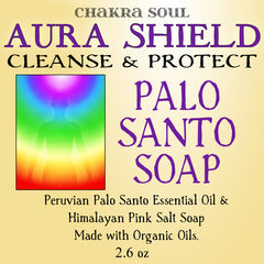 Aura Shield Palo Santo Soap