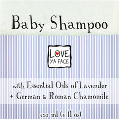 Love Ya Face Baby Shampoo