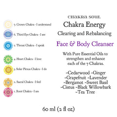 Chakra Energy Face and Body Cleanser