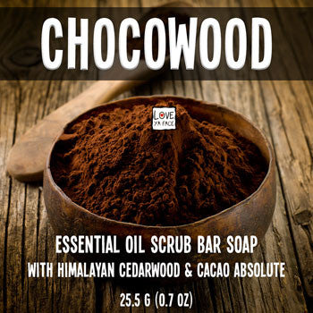 Chocowood - Scrub Bar Soap