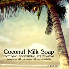 Coconut Milk Face and Body Soap