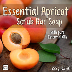 Essential Apricot - Scrub Bar Soap