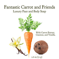 Fantastic Carrot & Friends - Body Bar Soap